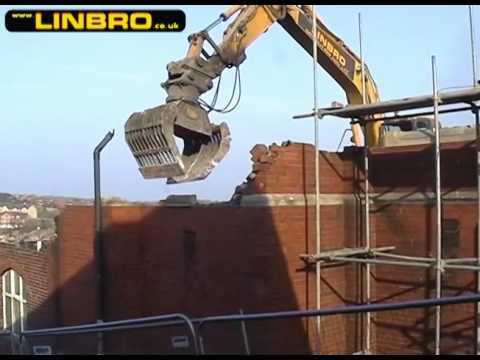 Linbro Demolition - Demolition of the United Reformed Church, Kimberworth, Rotherham Part 4
