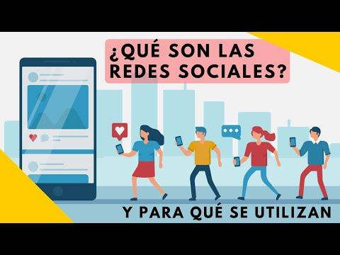 Qué son las Redes Sociales y Para Qué se Utilizan