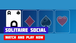 Solitaire Social · Game · Gameplay