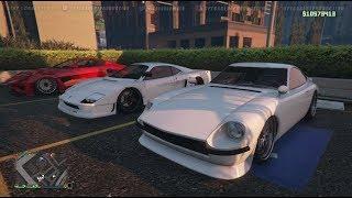 Live! - GTA 5 Online (XB1) | Open Clean Stance Car Meet? New Karin 190Z Build, Cruisin, & Chillin