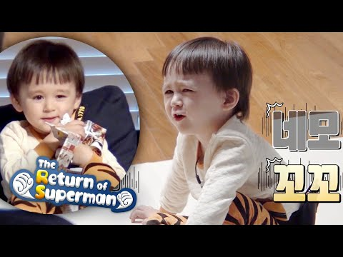 Bentley Is Hungry Enough To Eat A Menu! [The Return Of Superman Ep 323]