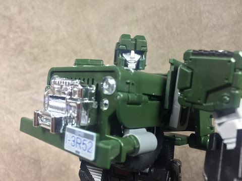 TFC Old Soliders Detective (Transformers 3rd Party Hound)