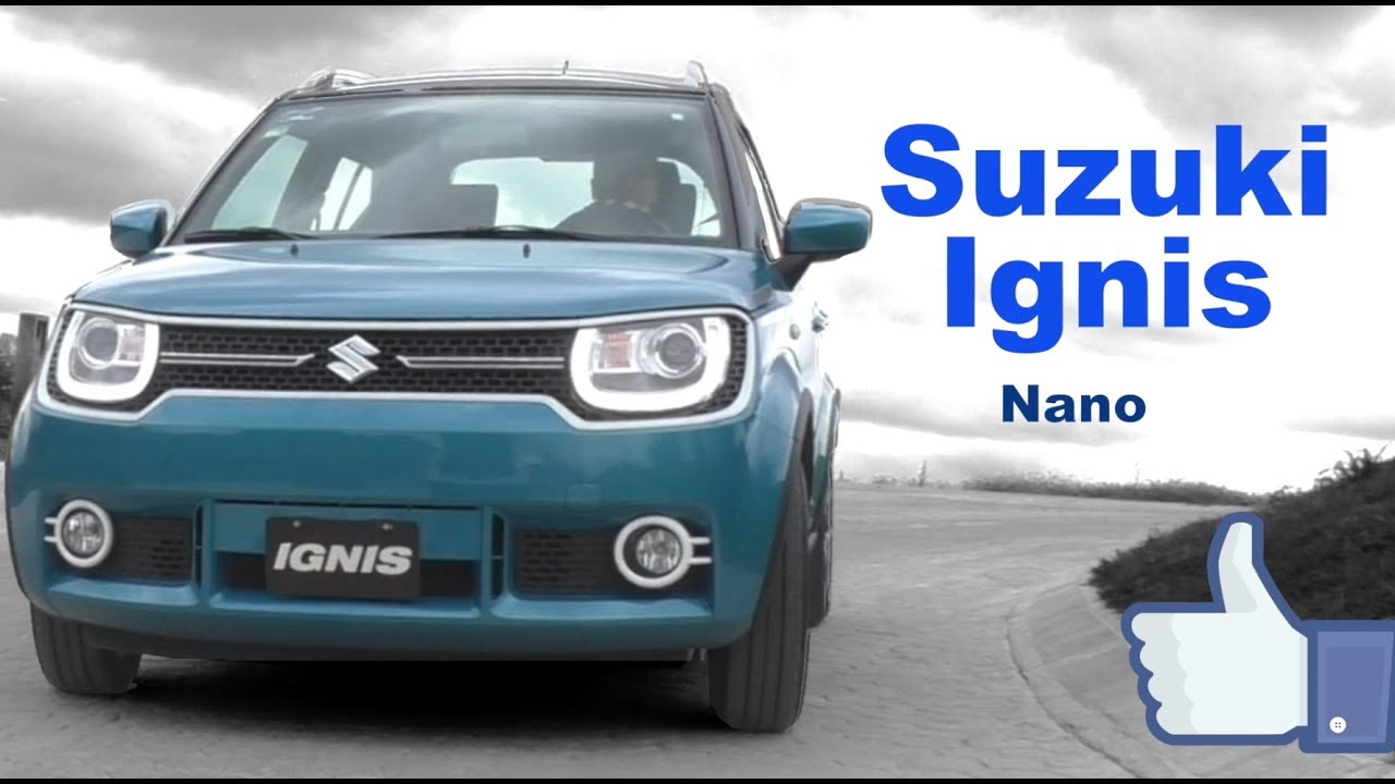 suzuki ignis 2018 la primer nano suv youtube. Black Bedroom Furniture Sets. Home Design Ideas