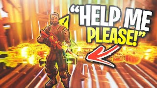 """Someone broke into my house, HELP...""😰😱 (Scammer Gets Scammed) In Fortnite Save The World"