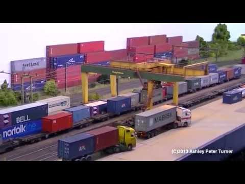 Peterborough Model Railway Exhibition 2013 HD