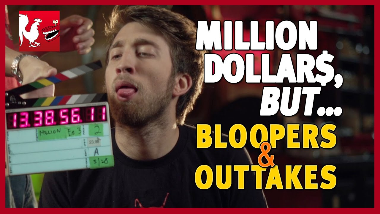 million dollars but bloopers outtakes rooster teeth