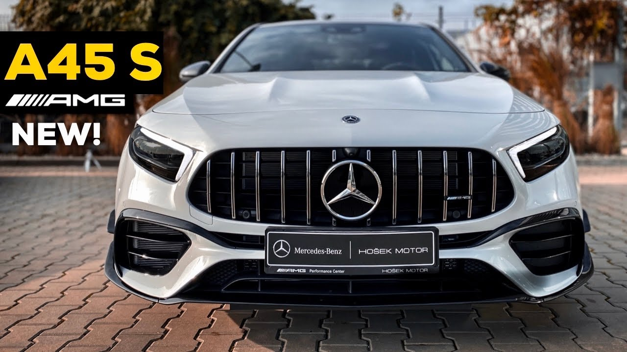 Download 2020 MERCEDES AMG A45 S NEW FULL Review BRUTAL 4MATIC+ Exhaust Sound Exterior