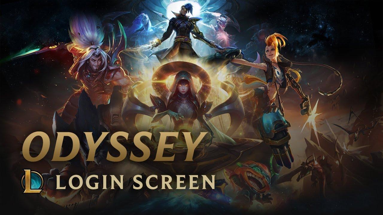 Odyssey Login Screen League Of Legends Youtube