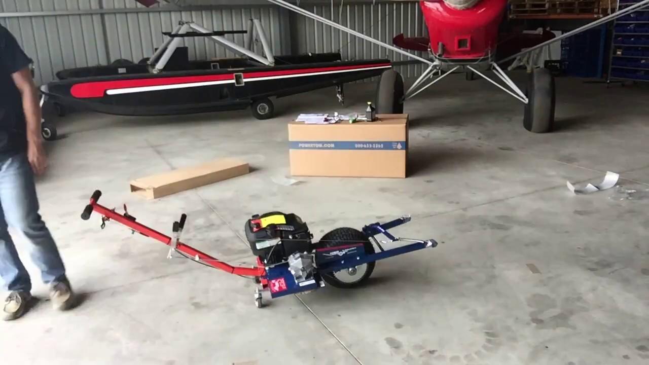 EZ40 Powertow Assembly, with Castor Wheel Kit