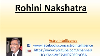 4 - Rohini Nakshatra
