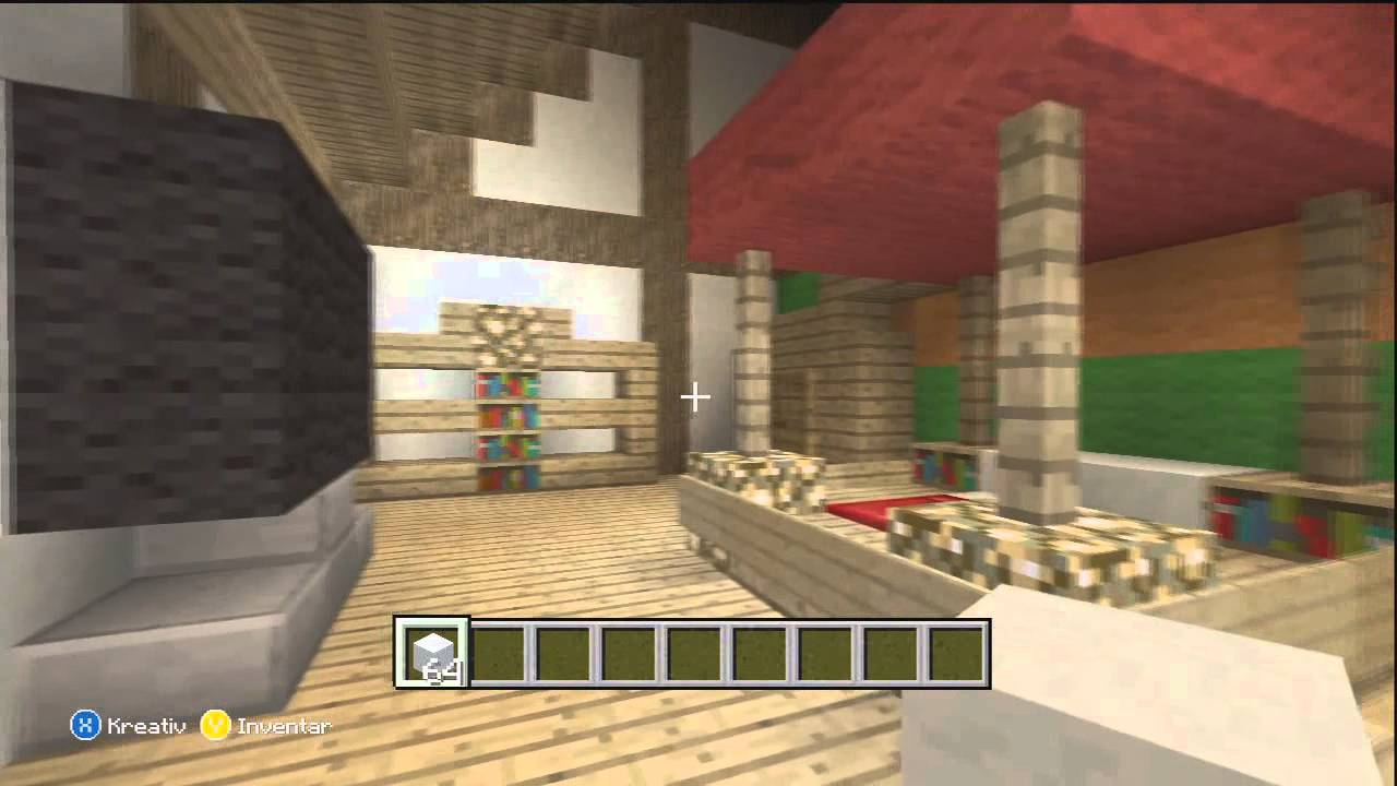 Minecraft schlafzimmer modern m belideen - Minecraft haus einrichten ...