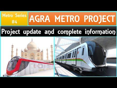 Agra Metro Update | Metro series-4 | Metro projects in Taj City agra, UP | UPMRC | Papa Construction