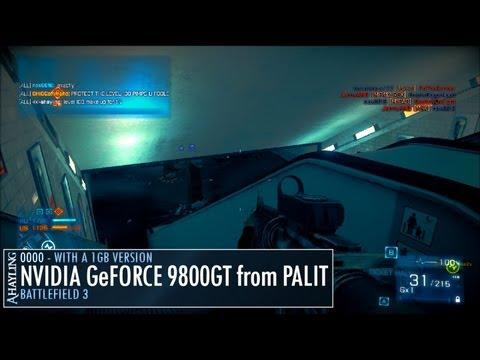 Battlefield 3 Operation Metro - Palit NVIDIA 9800GT 1GB