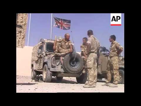 British spokesman on friendly fire deaths of soldiers