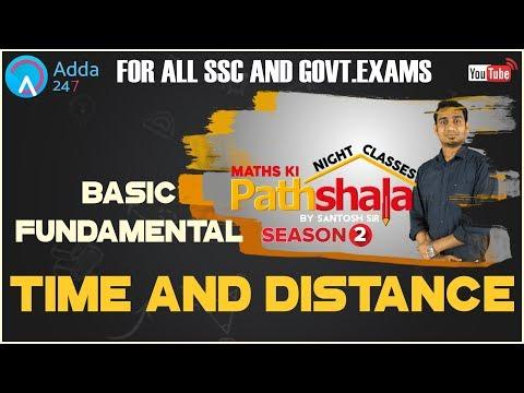 Maths Ki Pathshala Night Classes | Basic Fundamental Of Time And Distance By Santosh Sir