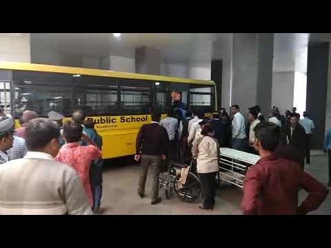 indore DPS bus accident/speed news