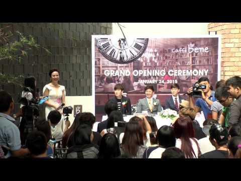 The 2nd Caffe Bene Vietnam's store Grand Opening Ceremony