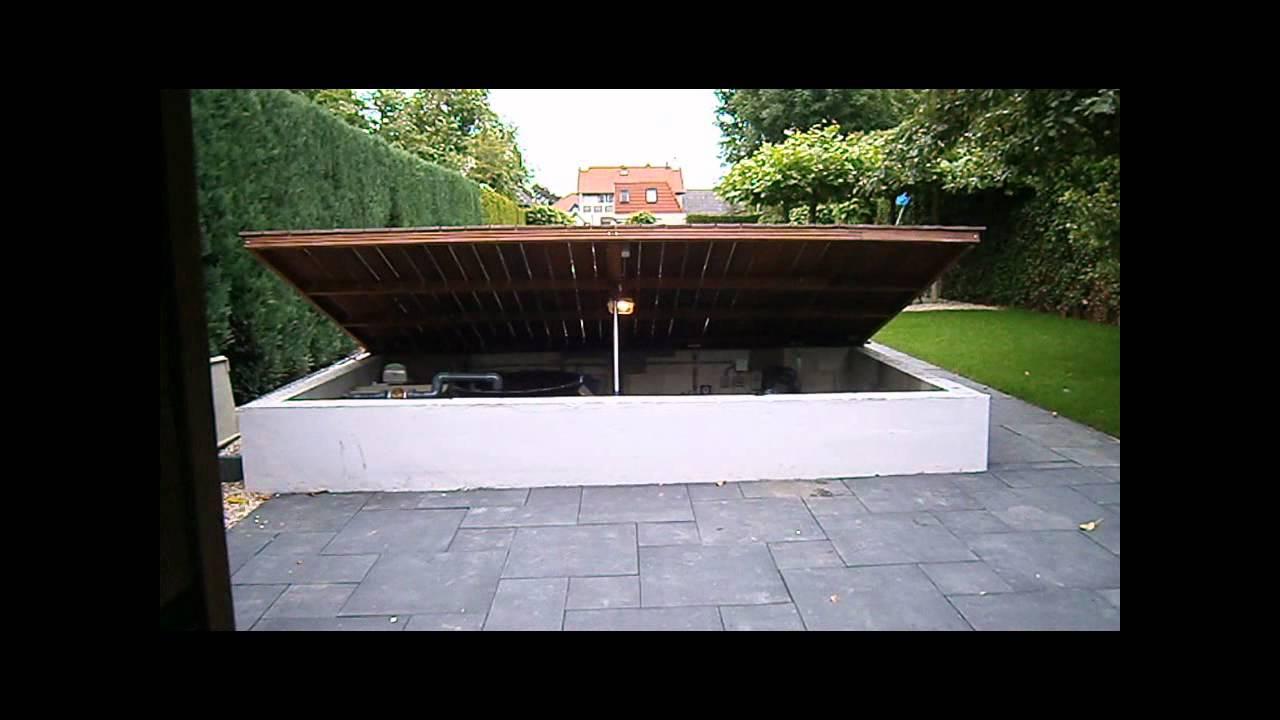 Vijver bouw putdeksel vijver en tuin youtube - Outs zwembad in de tuin ...