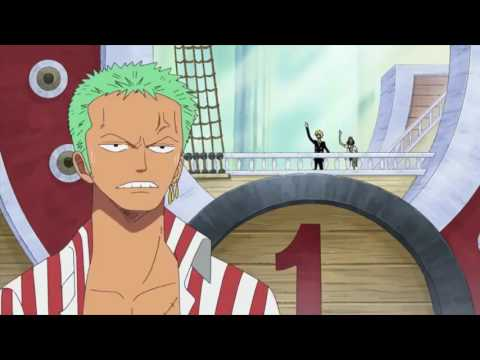 One Piece Funny Zoro owned by Sanji, Usopp, Bubble G