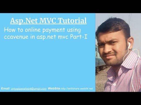 How to online payment using ccavenue in asp net mvc Part-I