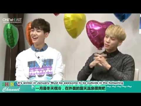 [OnewHeart sub]140924 SHINee Channel  I'm Your Boy {JP CN&EN}