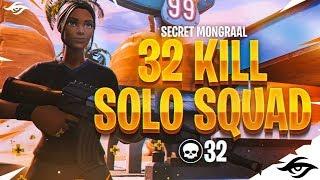Mongraal | 32 Kill Solo Squad Win!
