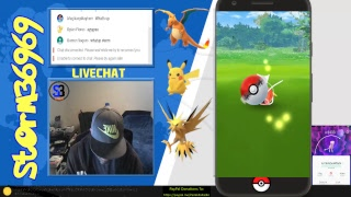 Pokemon GO - Late Night Quiet Stream Part 4 - 04-25-18