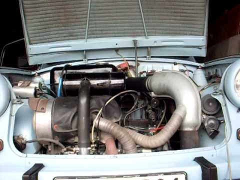 Trabant 601 indítása hidegen, fél év állás után