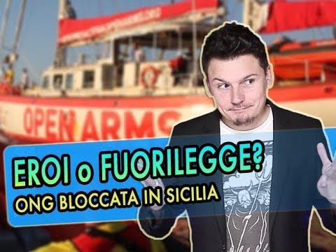 EROI o FUORILEGGE? - ONG ProActiva OpenArms fermata in Sicilia