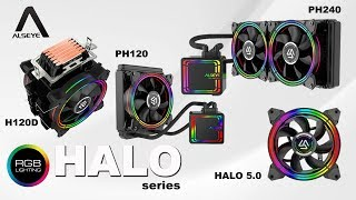 Alseye Fan Case HALO 5.0 H-120 5MR