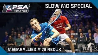 Squash: MegaRally #176 ReDux - Slow Mo Edition
