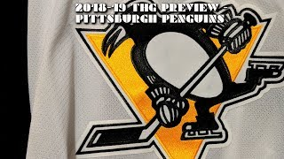 2018-19 Pittsburgh Penguins Season Preview