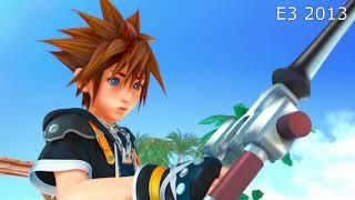 Kingdom Hearts III - TGS 2018 vs E3 2013 Graphics Comparison