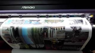 видео Интерьерная печать на самоклеющейся пленке
