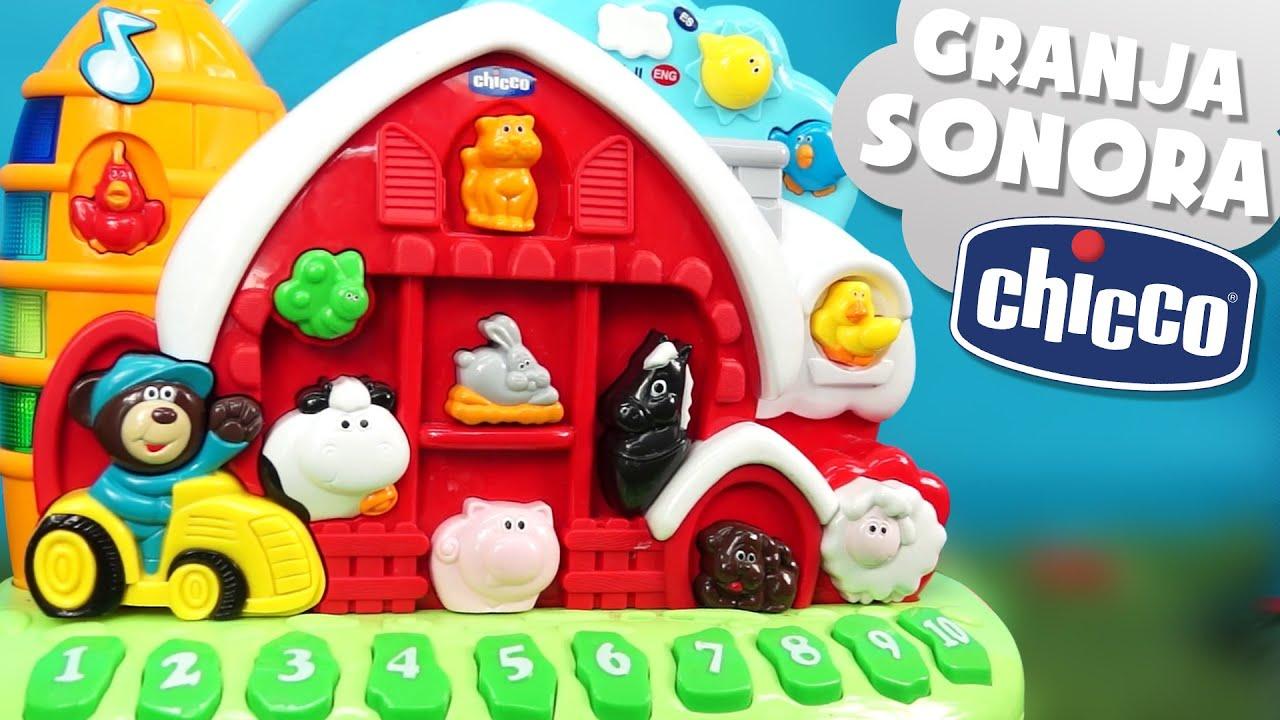 Granja sonora bilingüe – Juguetes para bebés de Chicco
