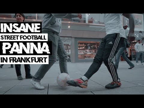 Panna verteilen in Frankfurt! - adidas Glitch 19 street football  test