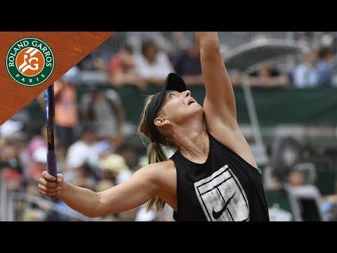 Maria Sharapova - Preview Round 1   Roland-Garros 2018