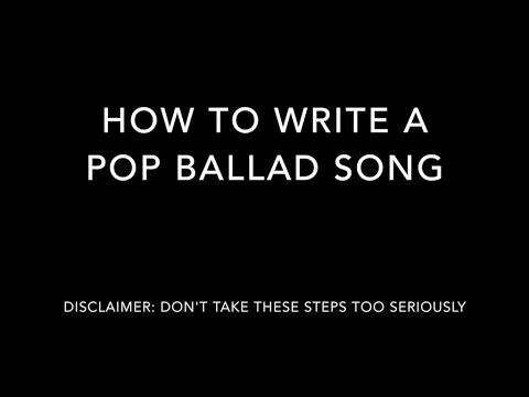 How to write a pop song melody search