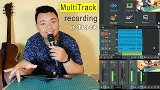Cara Rekam Multitrack Menggunakan HP dengan Aplikasi n-Track screenshot 2