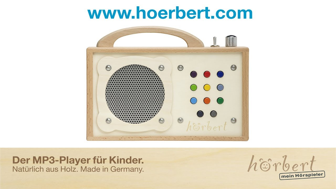 h rbert der mp3 player aus holz f r kinder kurz erkl rt youtube. Black Bedroom Furniture Sets. Home Design Ideas