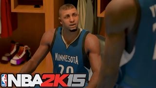 NBA 2K15 My Career: First Triple Double! Andrew Wiggins Injured?!