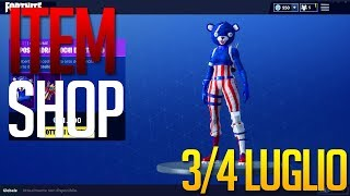 """NEW SKIN TO THE AMERICAN! ITEM SHOP 3/4 JULY Fortnite, Fortnite"