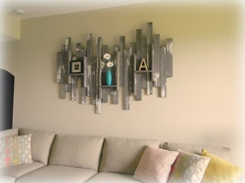 60 + Creative WOOD Wall Decoration Ideas 2017 - Amazing Wall Decor Ideas