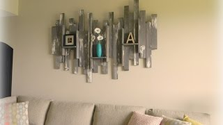 60 + Creative WOOD Wall Decoration Ideas 2017 - Amazing Wall Decor Ideas