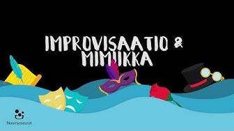 Teatterilava-TV: improvisaatio ja mimiikka