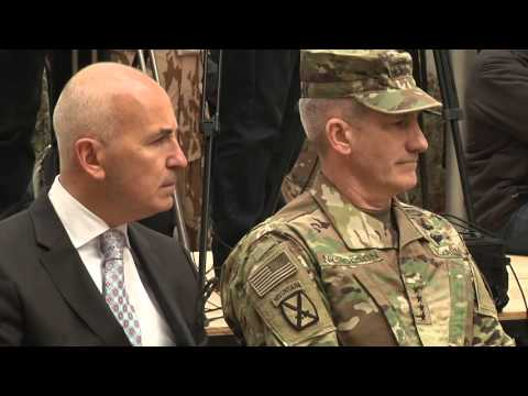 Change of Command at Resolute Support mission in Afghanistan