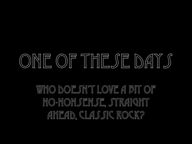 One of These Days - Ian Todd (Official Music Video)