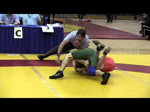 2014 Dino Invitational: 54 kg Freddie Aziz vs. Steven McCarville