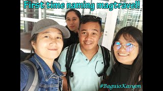 TRAVEL TOUR BAGUIO with TAPA Squad | D.I.Y Travel Baguio | Part1