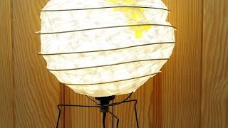 How To Make A Cool Japanese Lampshade - Diy Home Tutorial - Guidecentral